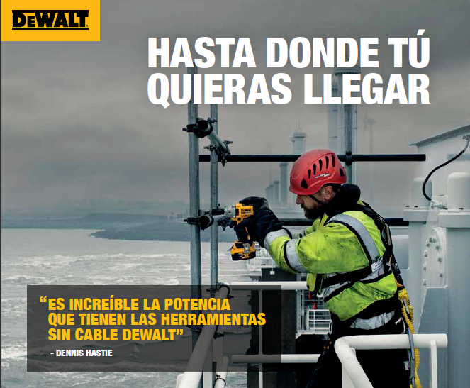 Catálogo de productos DeWALT, otoño 2020...